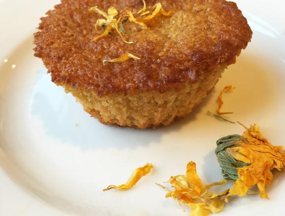 Calendula Corn Muffin