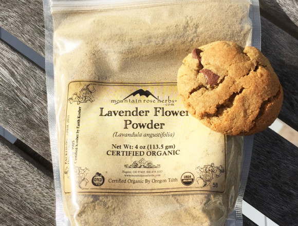Lavender Flower Powder and Cookie