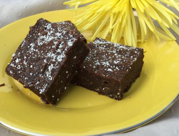 dandelion fudge brownie