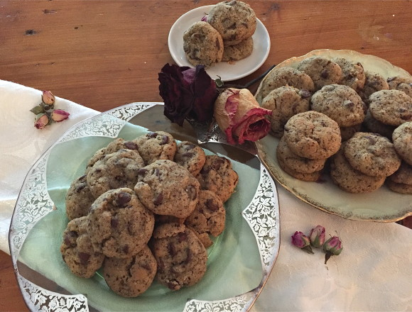 plates of cookies