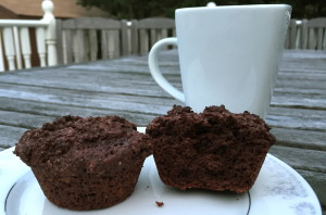 chocolate muffins for breakfast