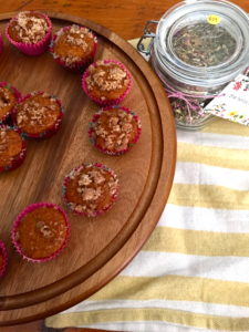muffins and herbs