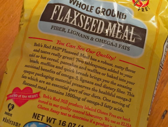ground flax meal