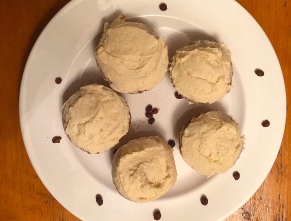 hawthorn berry cupcakes