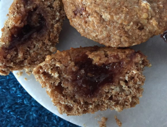 inside a muffin