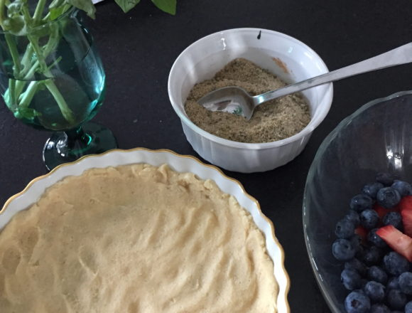 tart pastry and filling