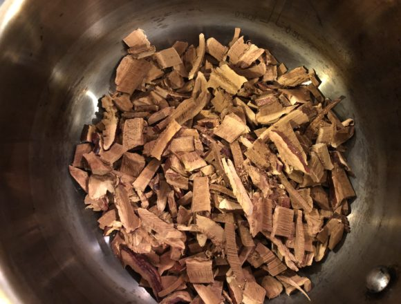 reishi mushrooms ready for decocting