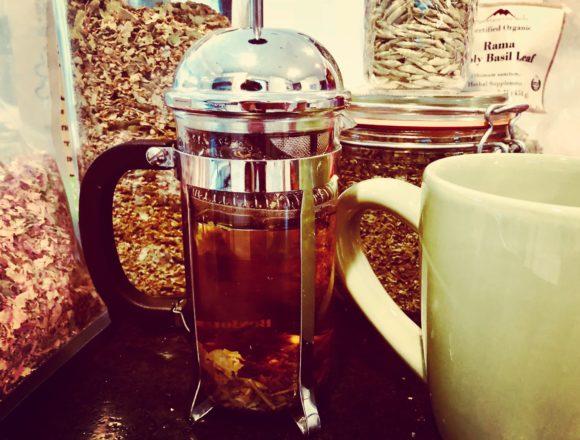 peace and love tea